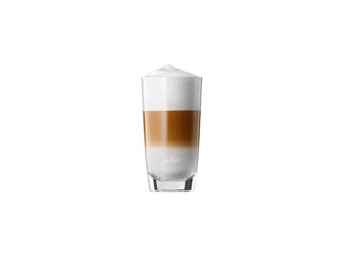 JURA Latte Macchiato sklenice, 2 ks