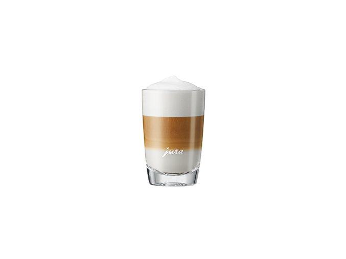 JURA Latte Macchiato sklenice, 2 ks nižší
